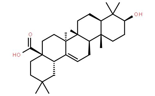 齐墩果酸结构式