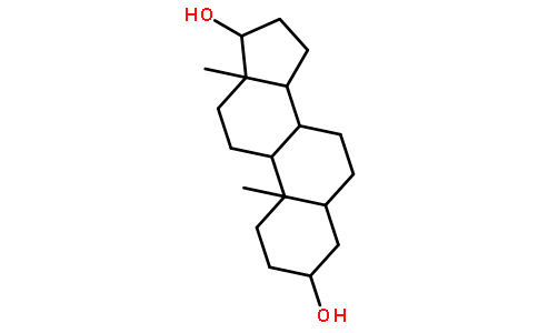 5alpha-雄烷二醇结构式