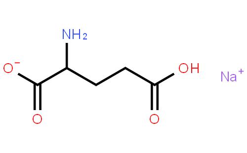 谷氨酸单钠结构式