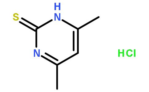 4,6-二甲基-1H-嘧啶-2-硫酮盐酸盐