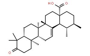 3-氧代-12-烯-28-乌苏酸
