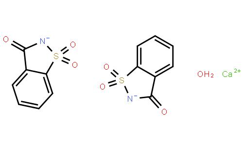 糖精钙结构式