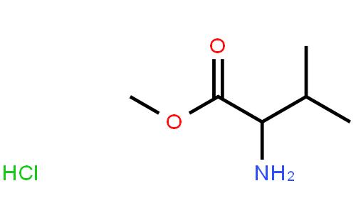L-缬氨酸甲酯盐酸盐结构式