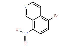 5-溴-8-硝基异喹啉