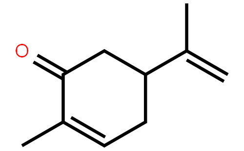左旋香芹酮结构式