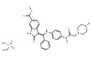 尼达尼布乙磺酸盐