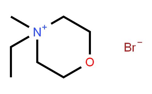 4-乙基-4-甲基吗啉溴盐结构式