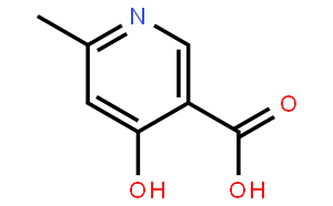 6-甲基-4-羟基-3-吡啶甲酸