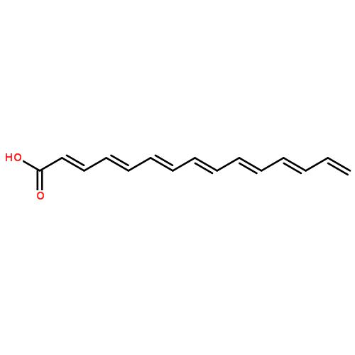 c14-c18/c16-c18 不饱和脂肪酸结构式  查看大图 cas:67701-06-8 分子图片