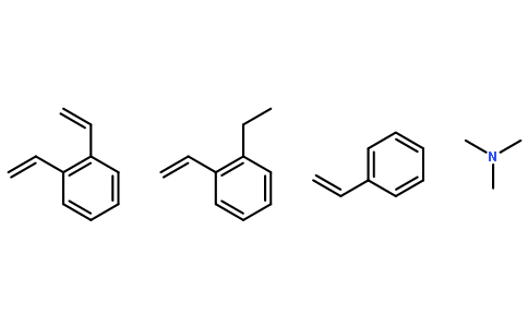 Dowex<sup>@</sup> 1×4 氯化物形式, chloride form
