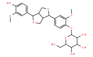 (+)-松脂醇-β-D-葡萄糖苷