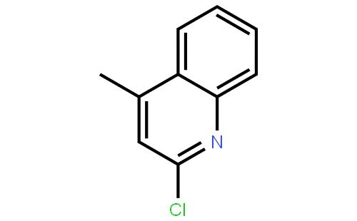 2-氯-4-甲基喹啉结构式