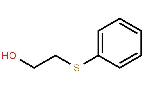 2-苯硫基乙醇(cas:699-12-7) 结构式图片