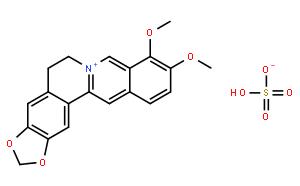 Berberine Sulfate;硫酸小檗碱