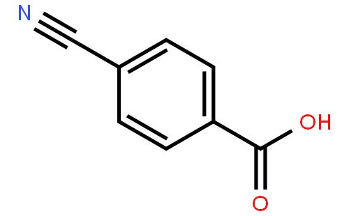 对氰基苯甲酸结构式