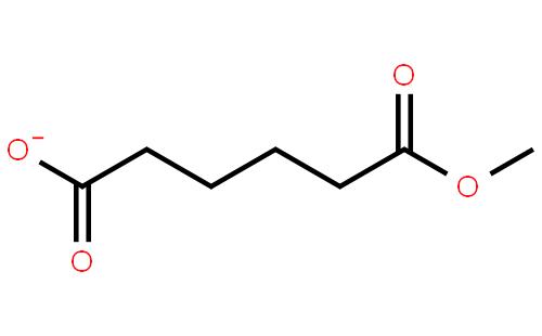 己二酸单甲酯结构式