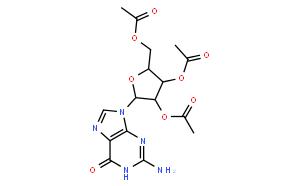 2´,3´,9´-三-O-乙酰鳥苷