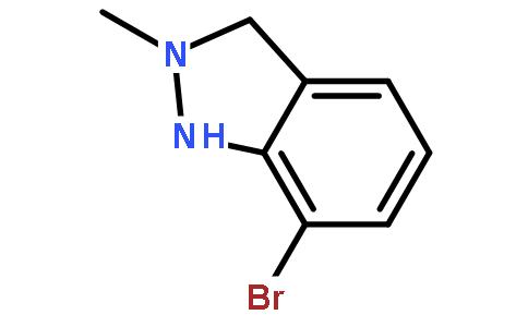 上海昶衍化工科技有限公司 > 7-溴-2-甲基吲唑   结构式搜索 cas