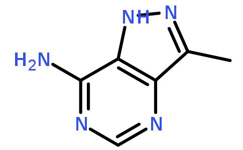7-氨基-3-甲基吡唑[4,3-d]并嘧啶(cas:7057-22-9) 结构式图片