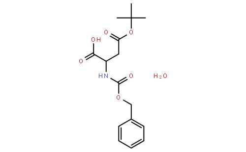 苄氧羰基-D-天冬氨酸 4-叔丁酯一水物
