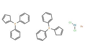 [1,1'-雙(二苯基膦基)二茂鐵]二氯化鈀