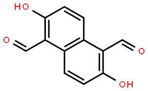 1,5-Naphthalenedicarboxaldehyde, 2,6-dihydroxy-