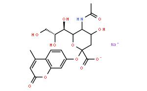 4-Methylumbelliferyl-N-acetyl-α-D-Neuraminic Acid (sodium salt)