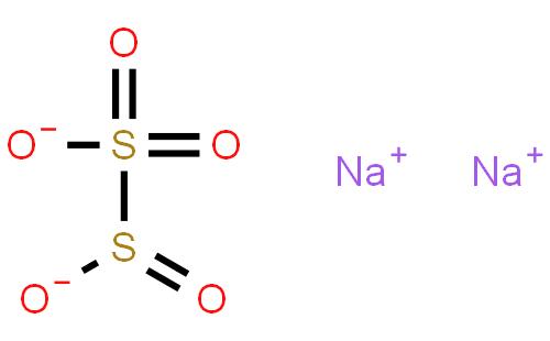 焦亚硫酸钠结构式