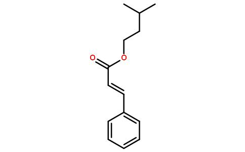 桂酸异戊酯结构式