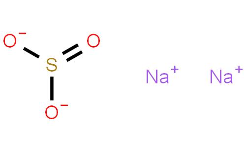 亚硫酸钠结构式