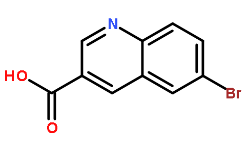 3-Quinolinecarboxylicacid, 6-bromo-