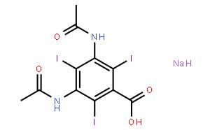 泛影酸钠,水合物
