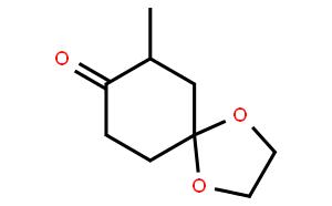7-methyl-1,4-dioxaspiro[4.5]decan-8-one