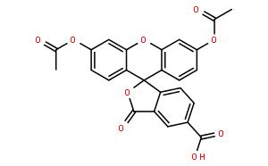 Spiro[isobenzofuran-1(3H),9'-[9H]xanthene]-5-carboxylicacid, 3',6'-bis(acetyloxy)-3-oxo-