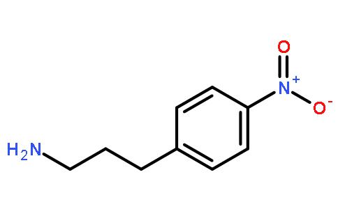 4-硝基苯丙胺结构式