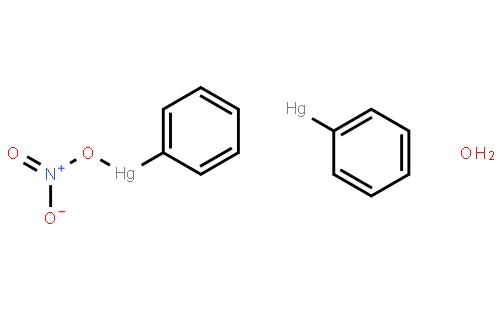 硝酸苯汞, 碱性