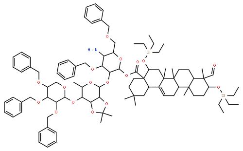 茶皂素结构式