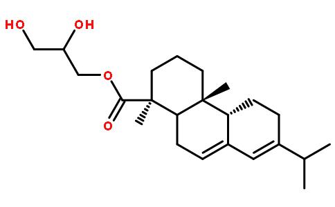 松香甘油酯结构式