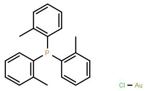 氯[三(邻甲苯基)膦]金(I)