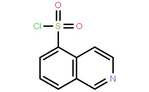 上海依赫生物科技有限公司 > 异喹啉-5-磺酰氯   结构式搜索 cas