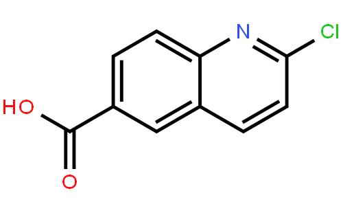 6-Quinolinecarboxylicacid, 2-chloro-