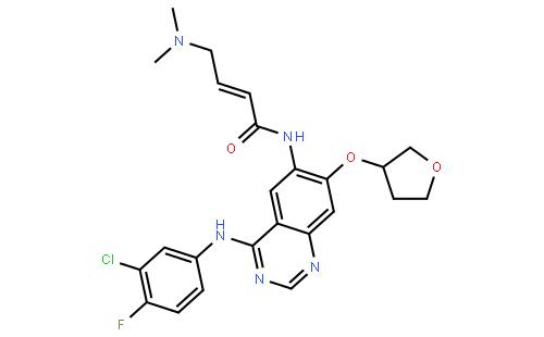 850140-72-6 (S,E)-N-(4-((3-Chloro-4-fluorophenyl)amino)-7-((tetrahydrofuran-3-yl)oxy)quinazolin-6-yl)-4-(dimethylamino)but-2-enamide