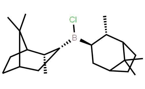 (-)-二异松蒎基氯硼烷结构式