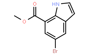 5-Bromo indole-7-carboxylic acid methyl ester