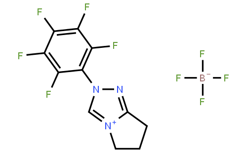 6,7-二氢-2-五氟苯基-5H-吡咯并[2,1-c][1,2,4]三唑鎓四氟硼酸盐