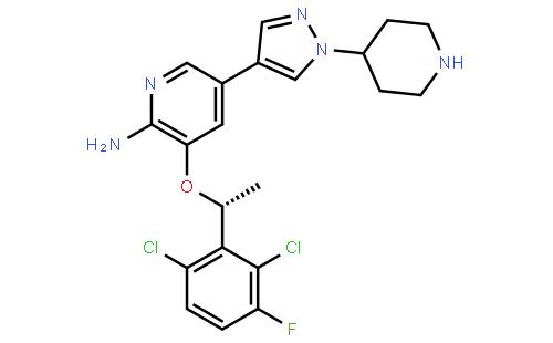 克里唑蒂尼结构式