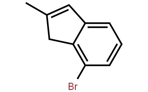 7-溴-2-甲基-1-茚结构式