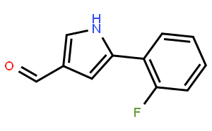 5-(2-Fluorophenyl)-1H-pyrrole-3-carbaldehyde