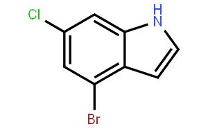 4-bromo-6-chloro-1H indazole