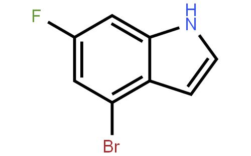 4-Bromo-6-fluoro-1H-indole